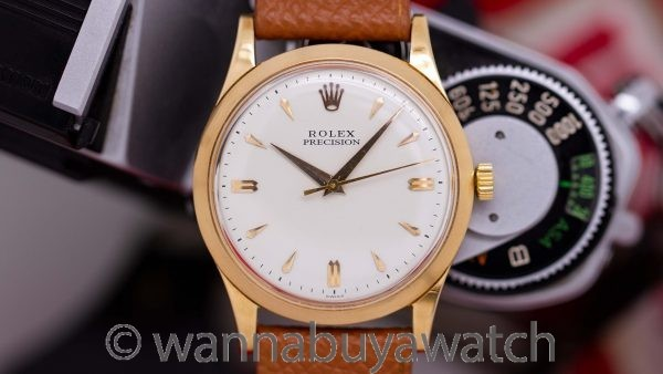 Rolex Precision Dress Model 18K YG circa 1957