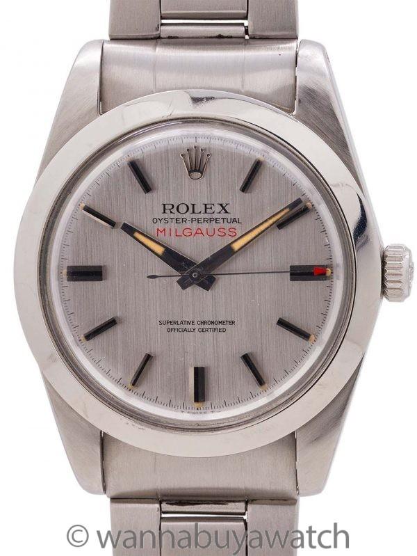 Rolex Milgauss ref 1019 circa 1966