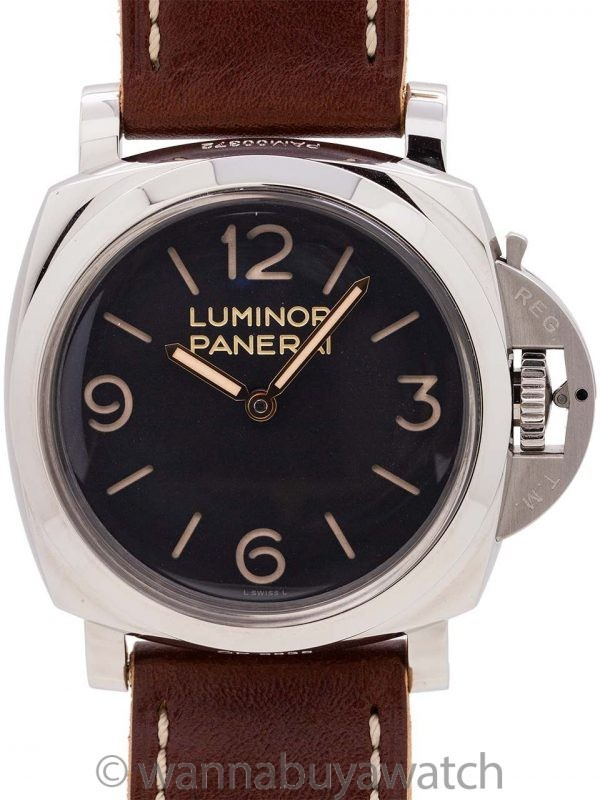 Panerai Luminor 1950 3 Days PAM372 circa 2018 w/ Box & Papers