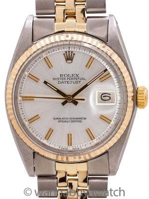 Rolex Datejust ref 1601 SS/14K YG circa 1968 Minty!