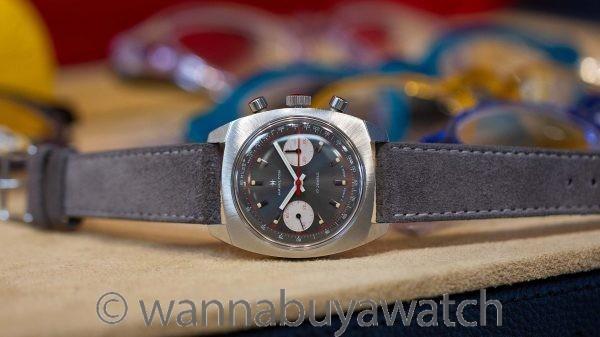 Hamilton SS Chronograph Valjoux 7733 ref 647 circa 1970's