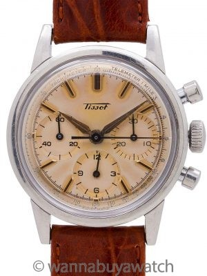 Tissot Triple Register SS Chronograph circa 1950's