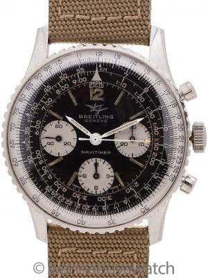"Breitling Navitimer ""Twin Jets"" Portuguese Import ref 806 circa 1966"
