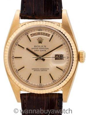 MINT Rolex 18K YG Day Date ref# 1803 circa 1972