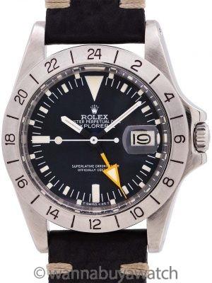 "Rolex <b>Explorer II</b> ref# 1655 aka ""Steve Mcqueen"" circa 1978"