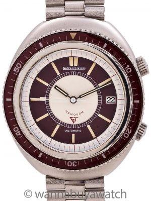 Rare Jaeger Lecoultre Polaris II Diver's Memovox Alarm circa 1970s