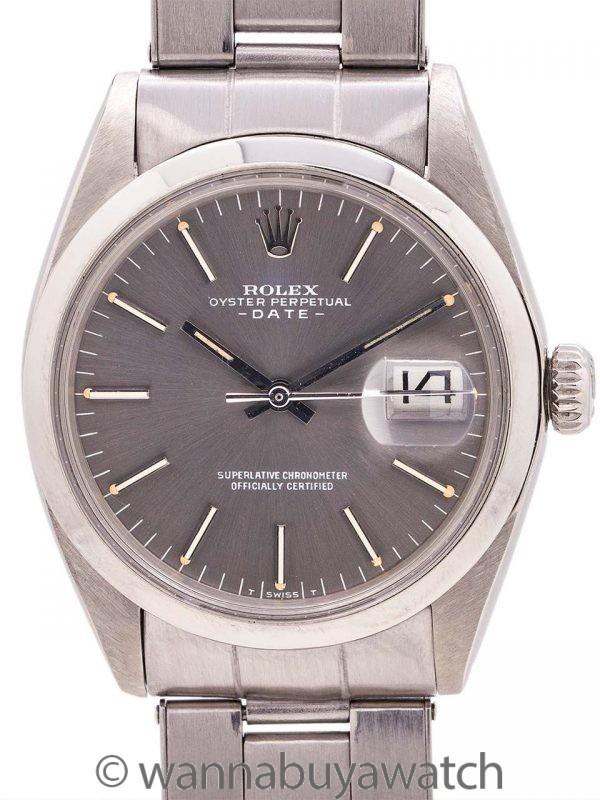 Rolex Oyster Perpetual Date ref# 1500 circa 1971