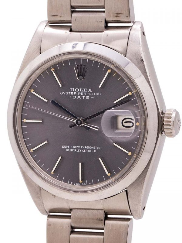 Rolex Oyster Perpetual Date ref 1500 Gray Dial circa 1972