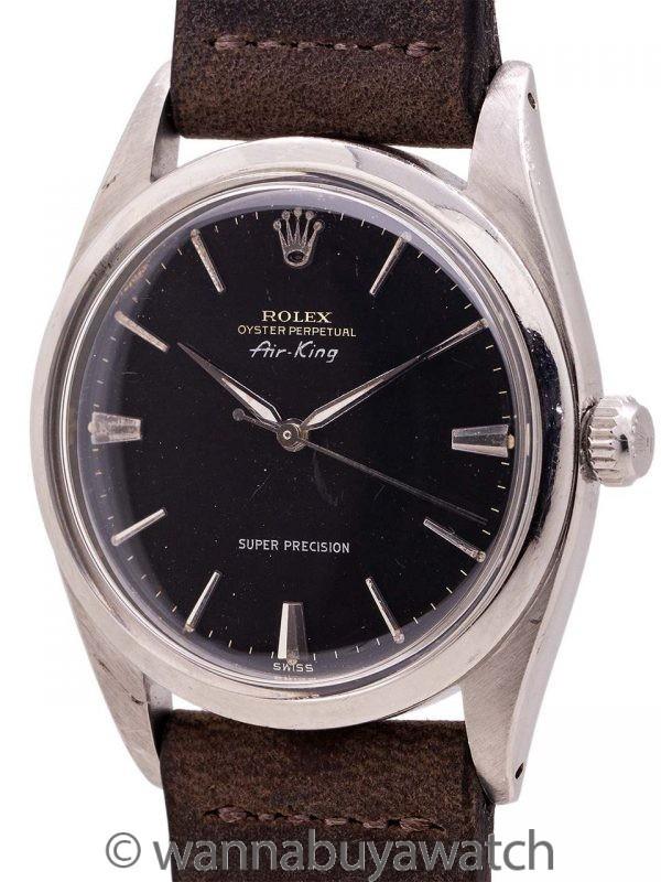 "Rolex Oyster Air King ""Super Precision"" ref 5504 circa 1959"