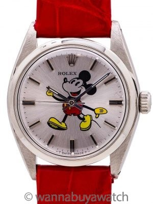 "Rolex SS Oyster Precision Ref. 6426 ""Mickey Mouse"" circa 1971"