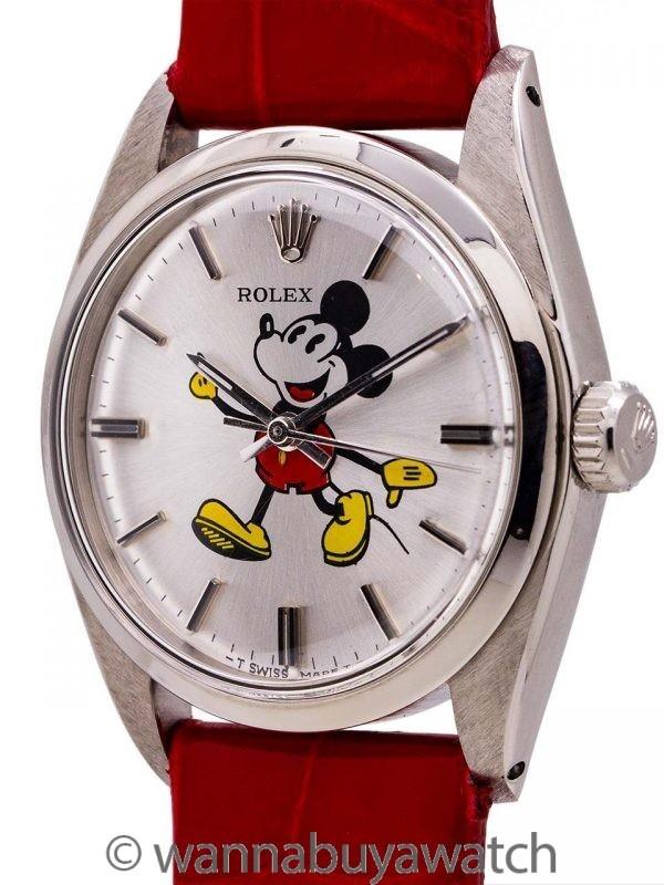 "Rolex SS Oyster Precision Ref. 6426 ""Mickey Mouse"" circa 1971"