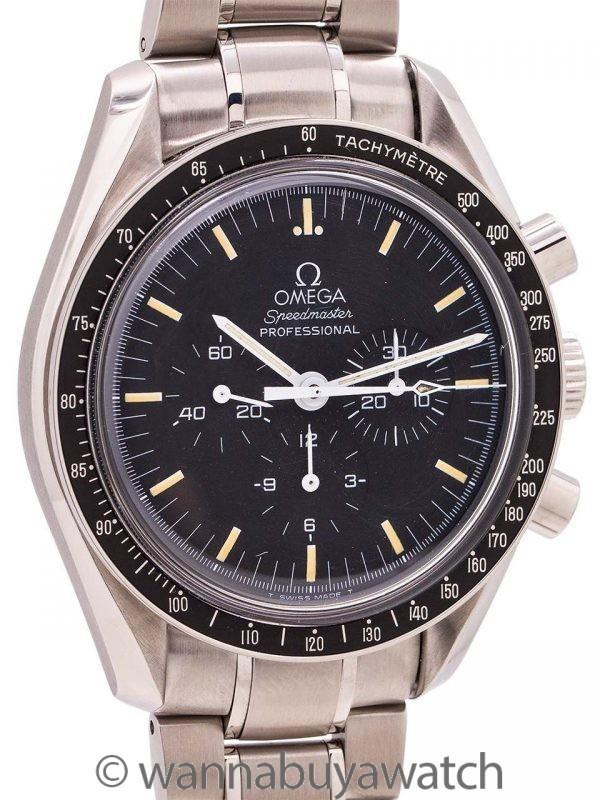 "Omega Speedmaster Man on the Moon ref 145.0022/345.0022 ""Tritium"" circa 1997"