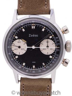 Zodiac Chronograph Reverse Panda circa 1960's