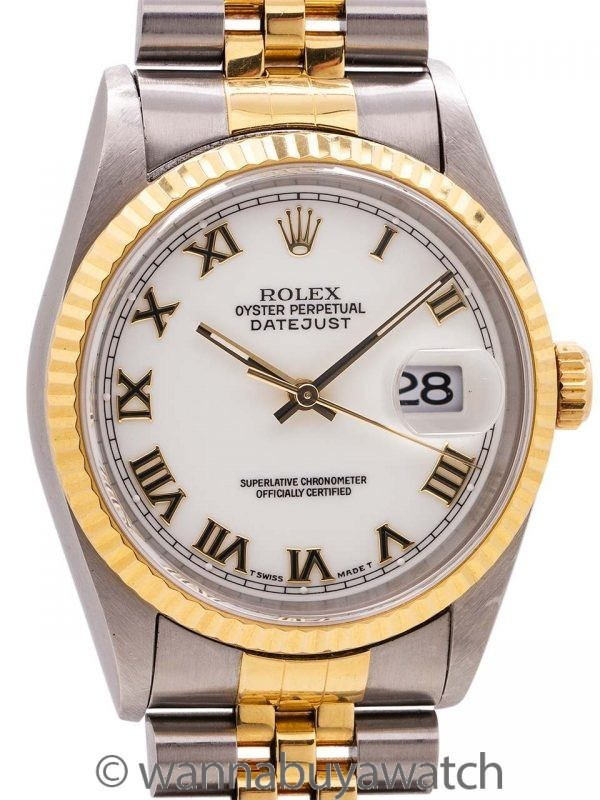 Rolex Datejust ref 16233 SS/18K circa 1995