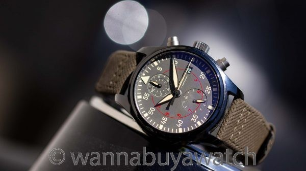 IWC Top Gun Miramar Chronograph Full Set circa 2016