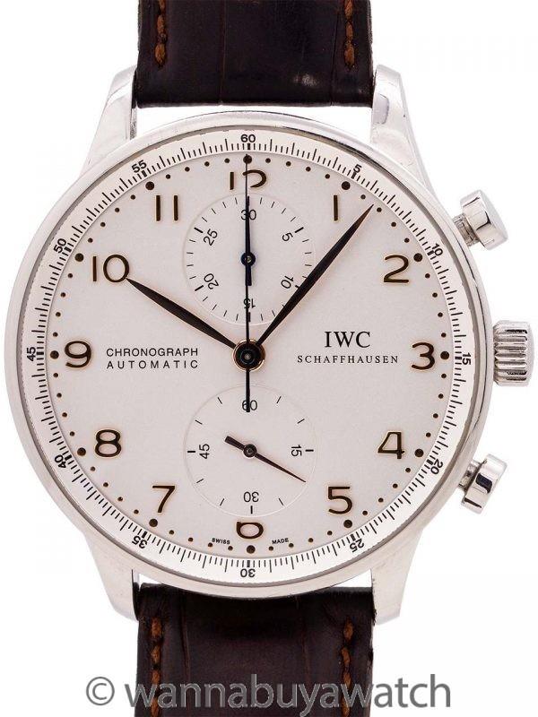 IWC Portugieser SS Chronograph circa 2010