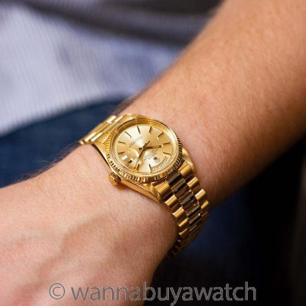 Rolex 18K YG Day Date ref 1803 circa 1966