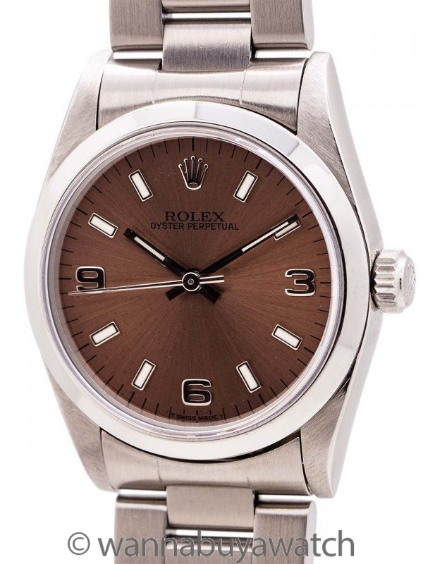 Rolex Oyster Perpetual Midsize ref 67480 circa 1997