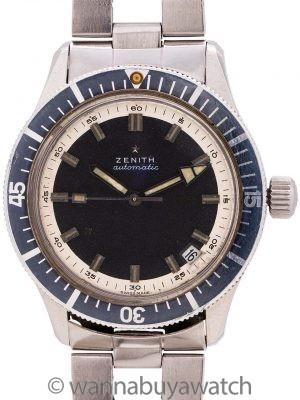 Zenith SubSea A3630 Automatic Diver circa 1969
