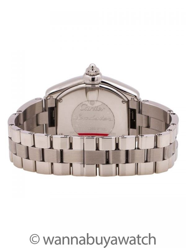 Cartier Lady Roadster Stainless Steel circa 2000's B & P