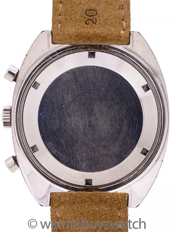 Wittnauer Chronograph Valjoux 729 GMT circa 1960's