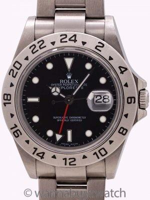 Rolex Explorer II ref 16570 circa 2006 w/ Card