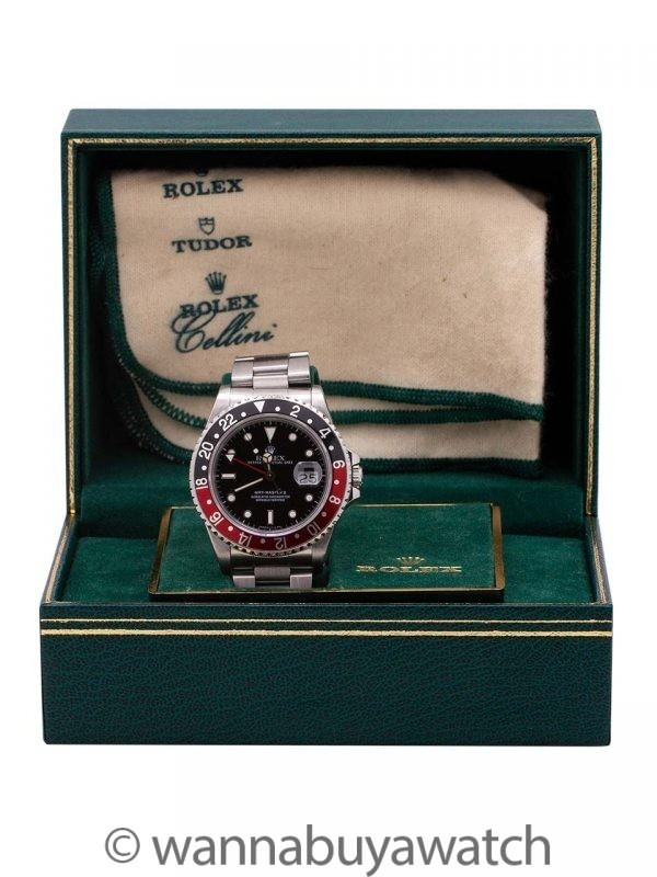"Rolex GMT II ref 16710 ""Coke"" Box & Papers circa 1988"