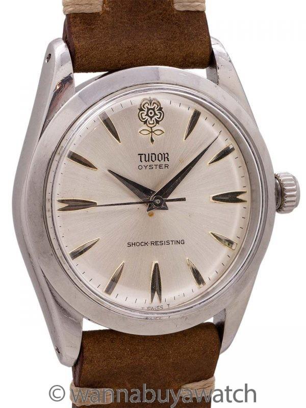 "Tudor Oyster ""Rose"" SS ref 7984 circa 1965"