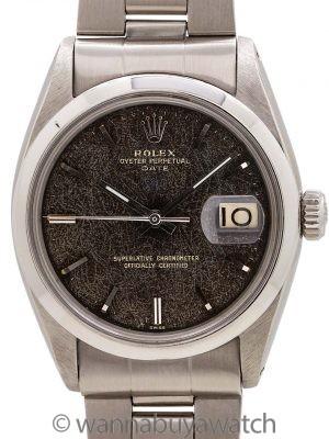 "Rolex Oyster Perpetual Date ref 1500 Gilt ""Leopard"" Dial circa 1959"