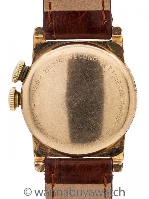 Longines Weems YGF circa 1943 Breguet Dial
