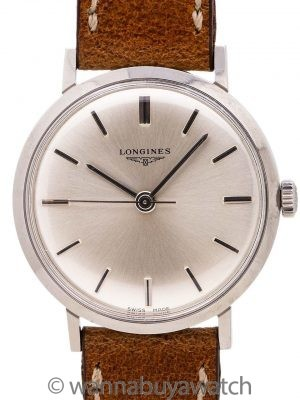 Longines SS Dress Model ref. 7839-4 circa 1968