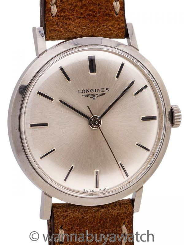 Longines SS Dress Model ref. 7839-4 circa 1968