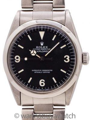 Rolex Explorer ref. 1016 Hack Feature circa 1985