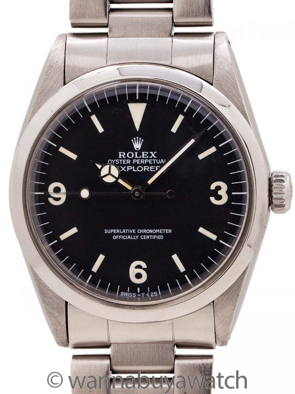 Rolex Explorer ref. 1016 Hack Feature circa 1985