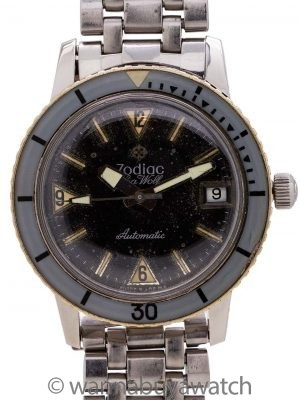 Zodiac Seawolf JB Champion Bracelet circa 1960's