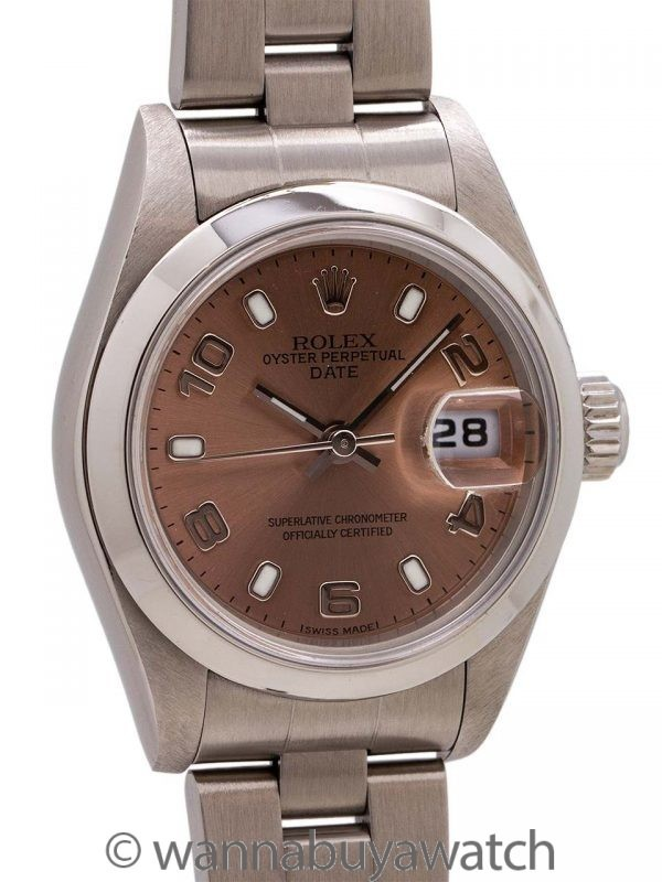Rolex Oyster Perpetual Date ref 69160 circa 1999 B & P