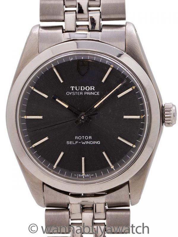 """Tudor SS Oyster Prince """"Gray"""" circa 1984"""