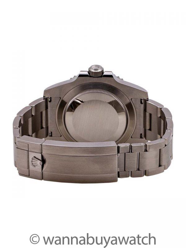 Rolex Submariner ref 114060 circa 2019 B &  P