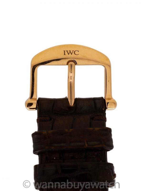 IWC Portofino 18k PG Automatic circa 2010's