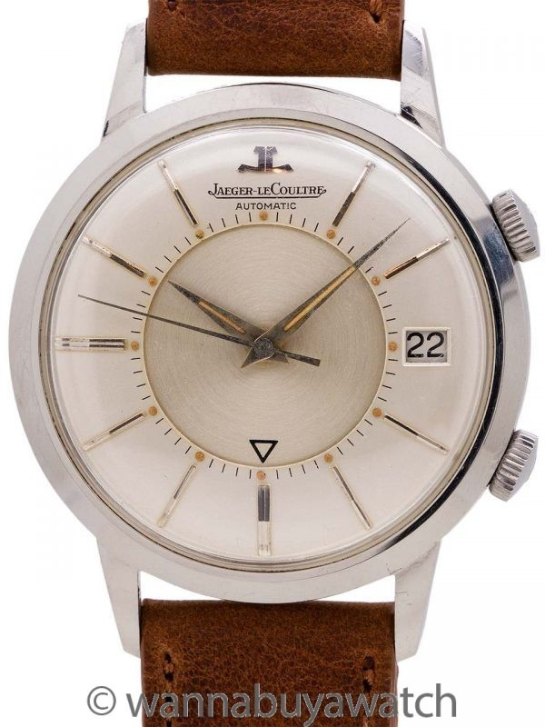 "Lecoultre SS Memovox Alarm ""Jumbo"" circa 1959"