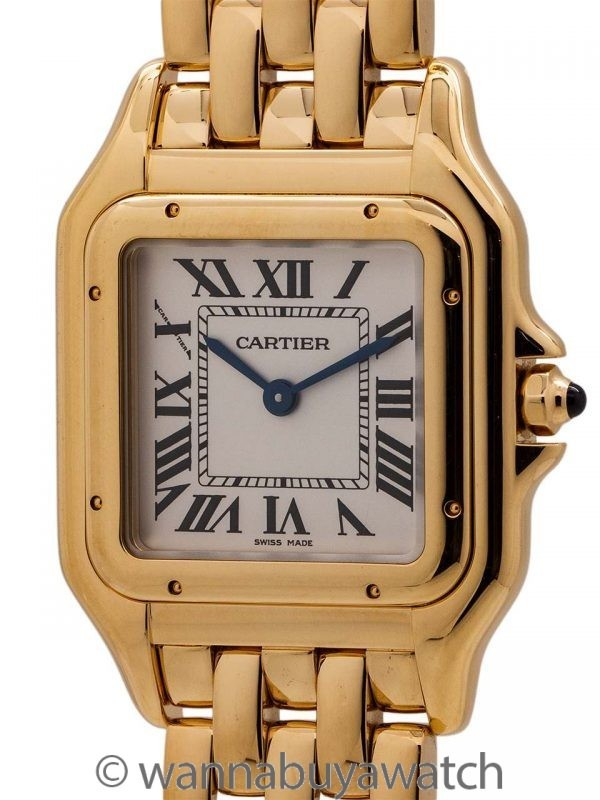 Lady's Cartier Panther 18K YG circa 2017