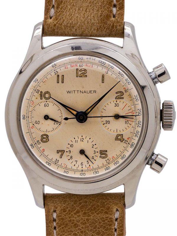 Wittnauer Vintage Chronograph circa 1950's Valjoux 72