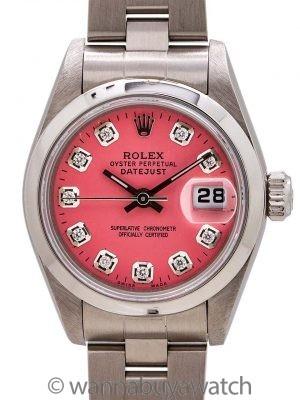 Lady Rolex Datejust ref 79160 SS circa 2003