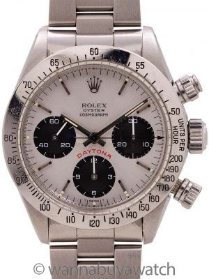 "Rolex Daytona ""Big Red"" ref 6265 circa 1984 B & P Mint!"