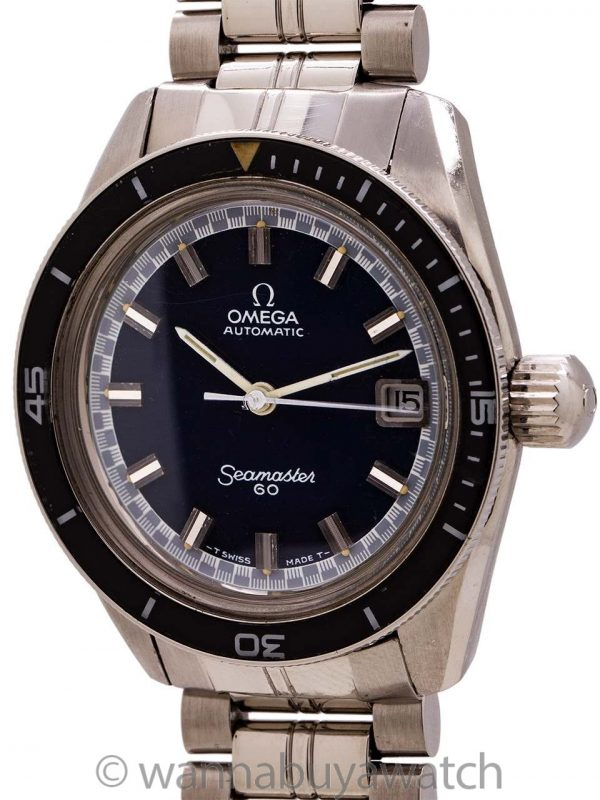 Omega Seamaster 60 Diver's ref 166.062 circa 1970