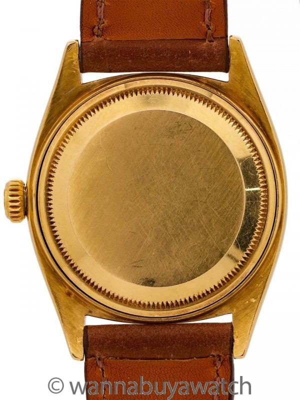 Rolex 18K YG Day Date ref 1803 circa 1962