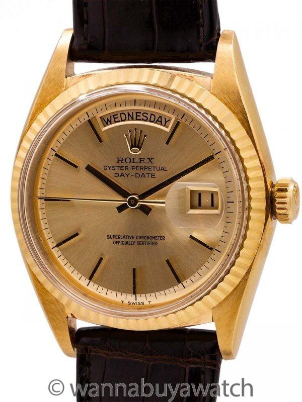 Rolex 18K YG Day Date ref# 1803 circa 1967