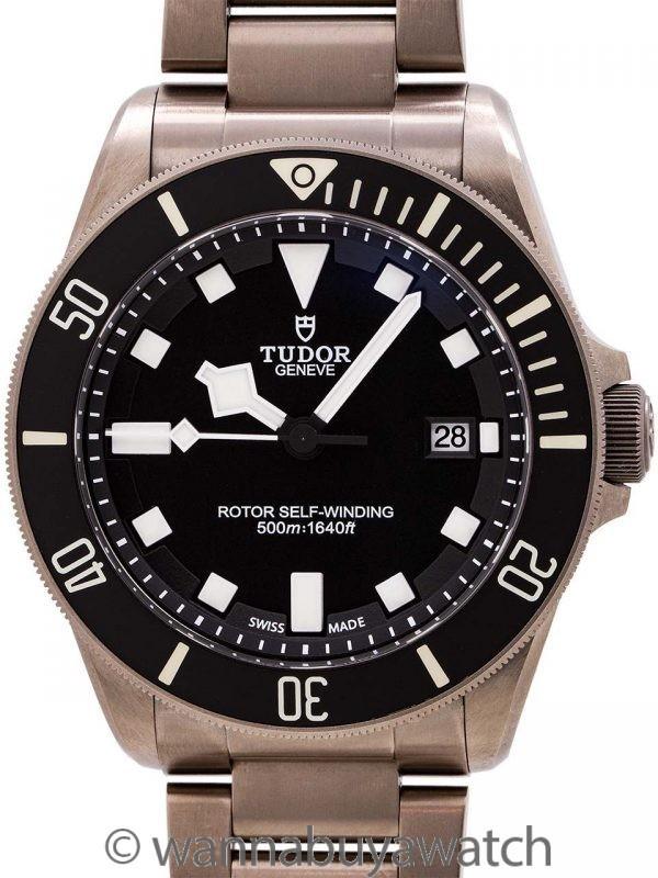 Tudor Pelagos ref. 25500TN ETA Caliber w/ Card circa 2014