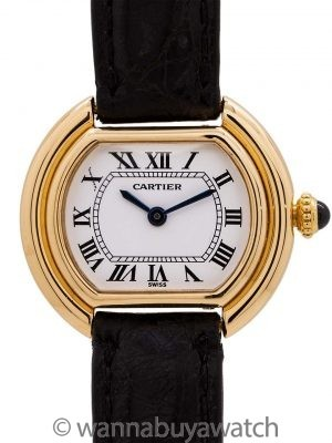 Cartier Lady 18K YG Vendome circa 1970's