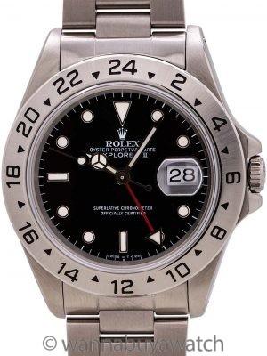 Rolex Explorer II ref 16570 Tritium Dial circa 1990